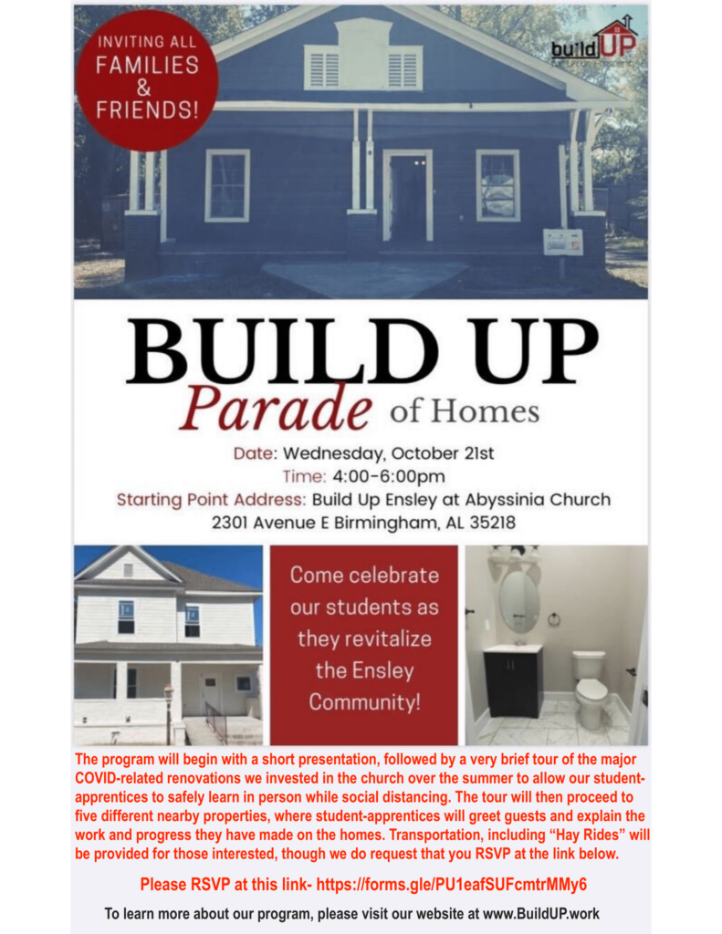 Build UP Parade of Homes